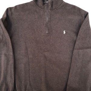 Polo Ralph Lauren Half Zip Sweatshirt Size Large